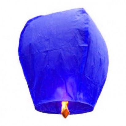 PREMIUM KVALITA Modrý Lietajúci lampión Standard