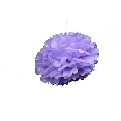 Papierový Pompom 50cm, fialový