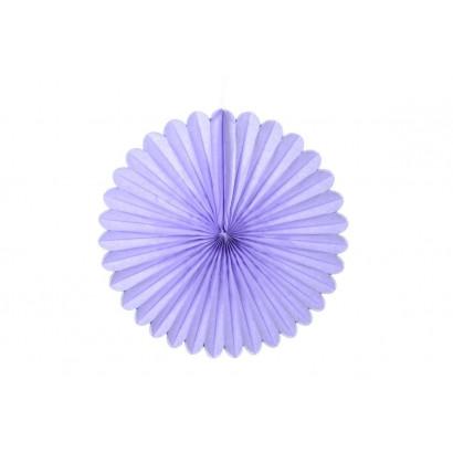 Papierová Rozeta 40cm fialová