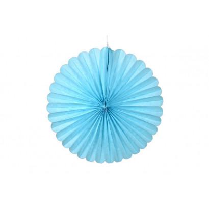 Papierová Rozeta 50cm modrá