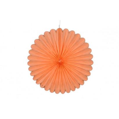 Papierová Rozeta 50cm oranžová