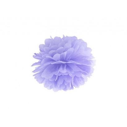 Papierový Pompón 35cm, fialový