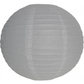 Papierový lampión guľatý visiaci 20cm biely