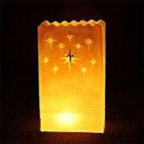 10ks Dekoratívne lampióny - SRDCIA