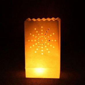 10ks Dekoratívne lampióny - OHŇOSTROJ