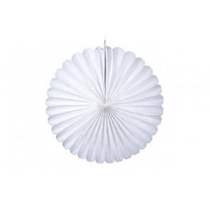 Papierová Rozeta 50cm biela