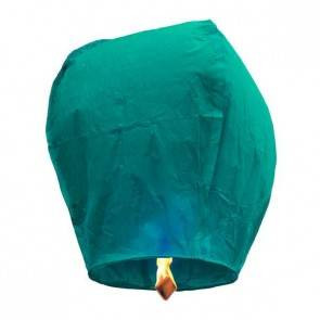 Modrý Lietajúci lampión ECO - trieda B