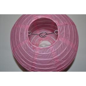 Papierový lampión guľatý visiaci 50cm ružový