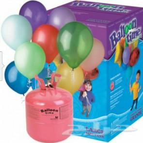 Jednorazové hélium 250 l (vystačí na 30 ks balónov)