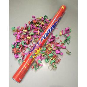 Vystreľovacie konfety farebný mix 60 cm