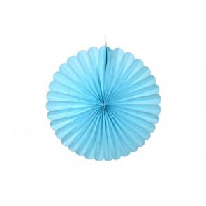 Papierová Rozeta 20cm modrá