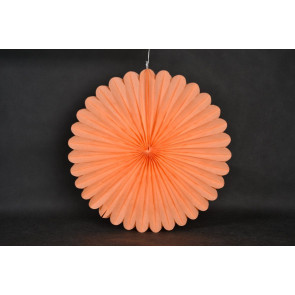 Papierová Rozeta 20cm oranžová