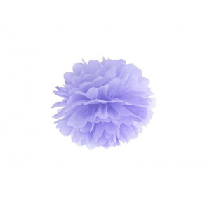 Papierový Pompón 20cm, fialový