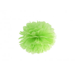 Papierový Pompón 35cm, zelený