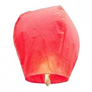 Ružový Lietajúci lampión ECO - trieda B