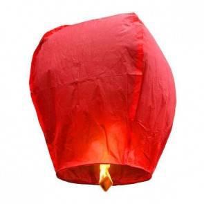 PREMIUM KVALITA Červený Lietajúci lampión ECO