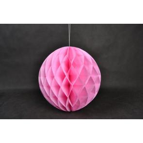 Dekoratívna Papierová guľa Honeycomb 30cm svetlofialový