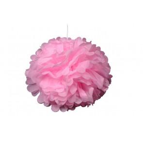Papierový Pompom 40cm, ružový