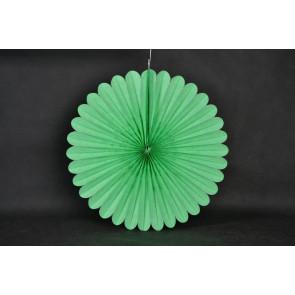 Papierová Rozeta 40cm zelená