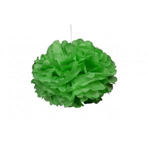 1ks Papierový Pompón - zelený