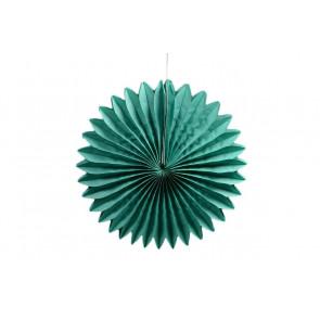 Papierová Rozeta 30cm zelená