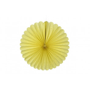 Papierová Rozeta 50cm žltá