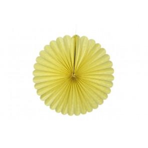 Papierová Rozeta 40cm žltá